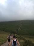On route, massive ascents