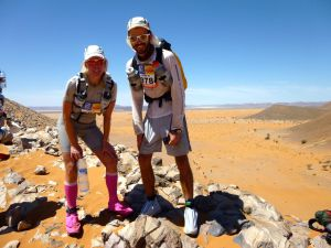 Making it to the top of a 'small' jebel to be rewarded with some stunning views