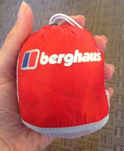 Berghaus in the palm of my hand