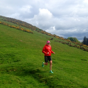 Putting the jacket through the downhills on Pentland Hills