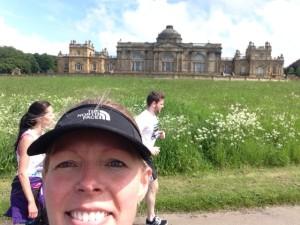 Edinburgh Marathon mile 18