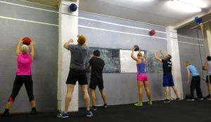 Crossfit in Edinburgh in action