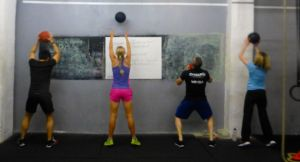 Vest & Shorts in action at Crossfit