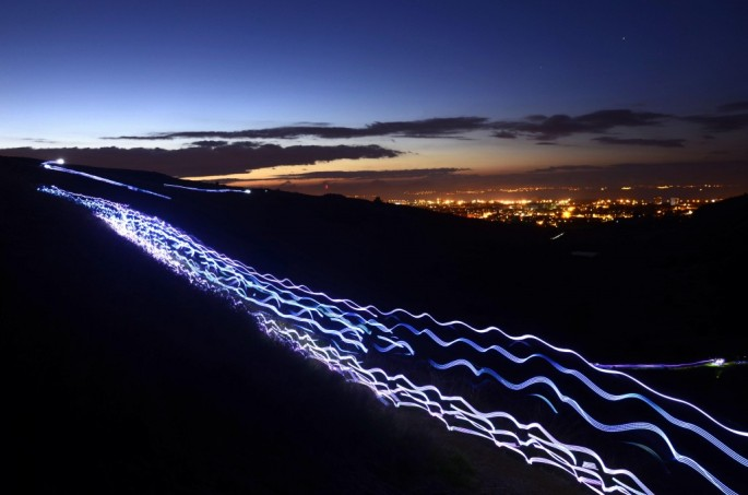 Run in the Dark Edinburgh 2014 (photo - Will Robb)