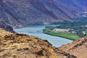 The stunning Orange River