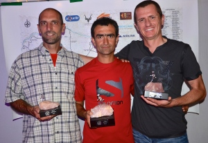 The winning men (Stefan, Mahmut & Dion)