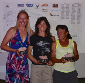 The winning ladies (Lucja, Linda & Bakiye)