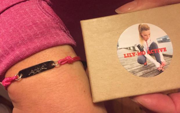 My bespoke KAEM bracelet