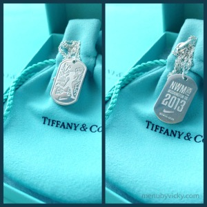 Nike Tiffany & Co Necklace - race bling