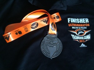 Finishers medal & shirt