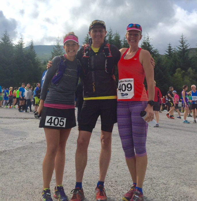 Fort William Marathon Race start