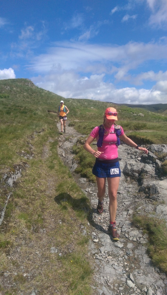 Pure Grit's in action during Ultimate Trails 110k performing great along the gritty dry trails