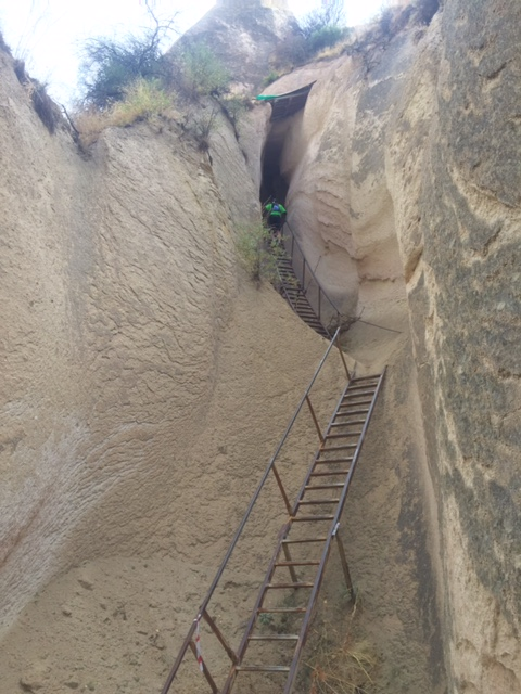 Stairs to climb
