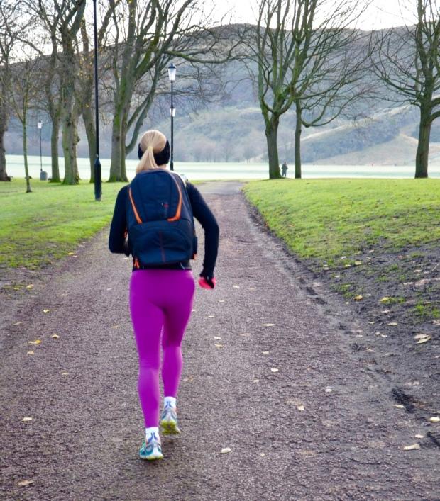 Taking my Karkoa bag for a run