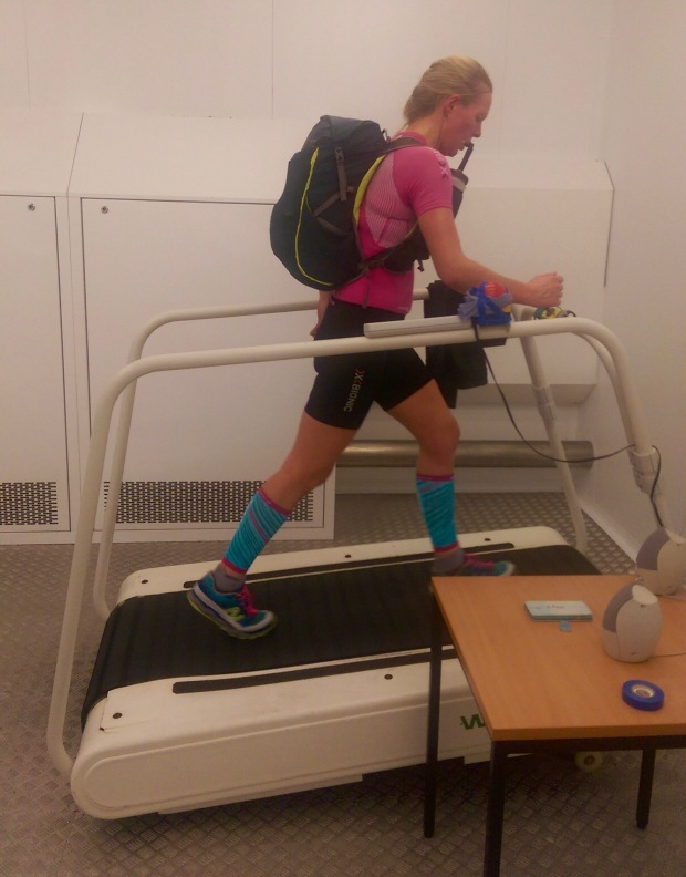 Tackling heat & hills in the heat chamber