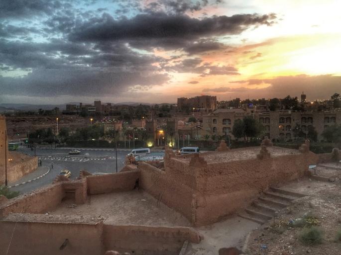 Ouarzazate sunset