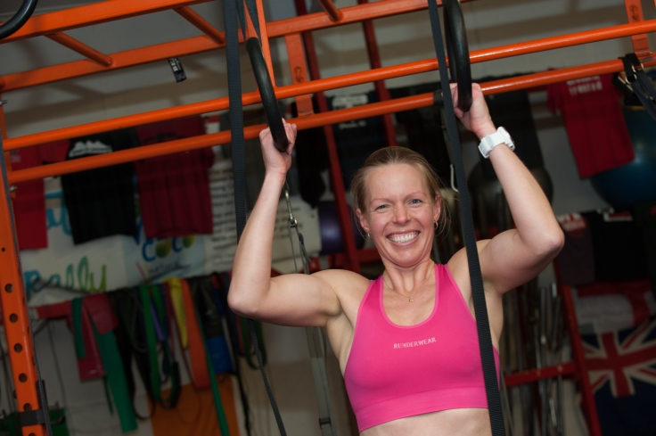 Putting Runderwear to the test at Crossfit