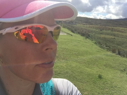 Styling our my Mimi Pink Sunglasses on the West Highland Way