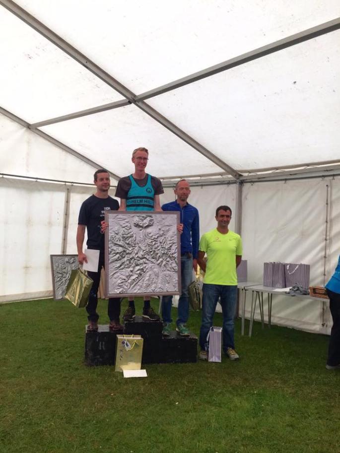 Men's 100km podium