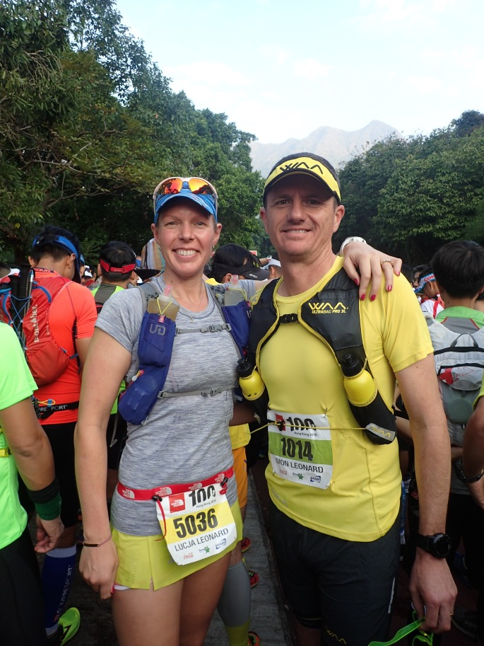 Ready together at the start line